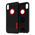 Hot Shockproof Carbon Fiber Mobile Phone Case For Iphone X , Stock For Iphone 10 Case Cover Wholesale Soft TPU For Iphone X Case