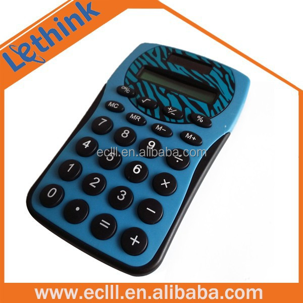 Palm phone shape mini pocket calculator for wholesale
