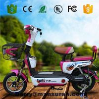 New 26'' 36V 10 AH Light Weight Smart Moden Aluminum Electric Bicycle Made in China
