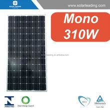 PV (photo voltaic) panel 310W Flat roof solar panels mount photovoltaic project