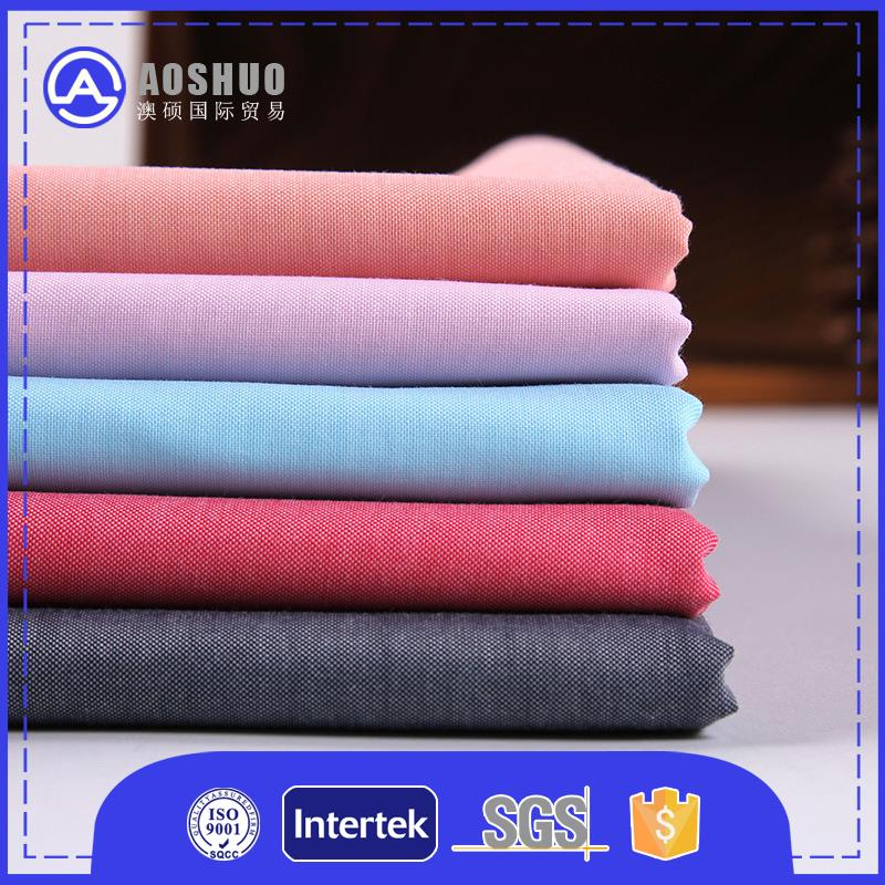 Polyester 80%/20% 80*160 t65/c35 fabric for school shirt for square towel