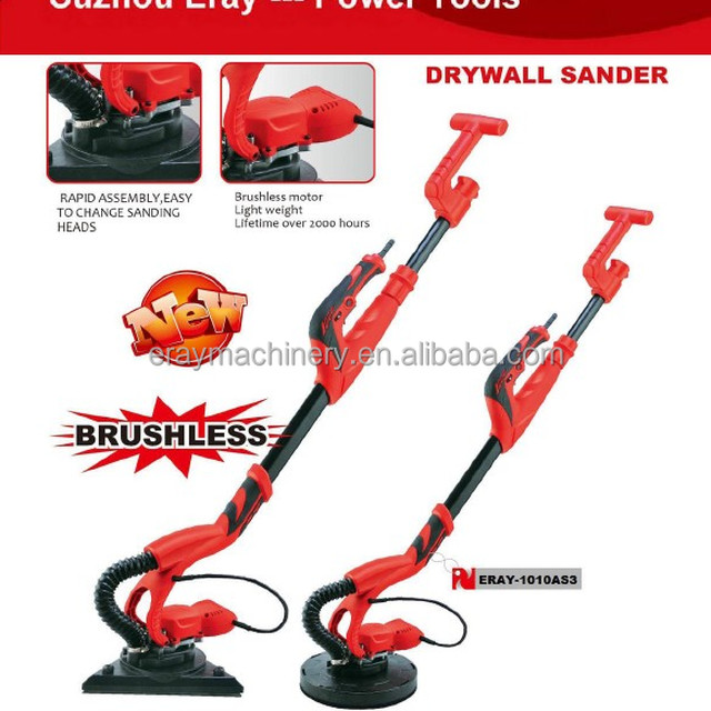 ERAY-1010AS3 electric drywall sander with constant speed control and ultra light weight, durable motor