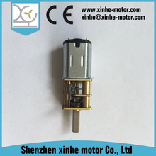 High Torque 6V 140rpm dc electric motor gearbox rate 210:1