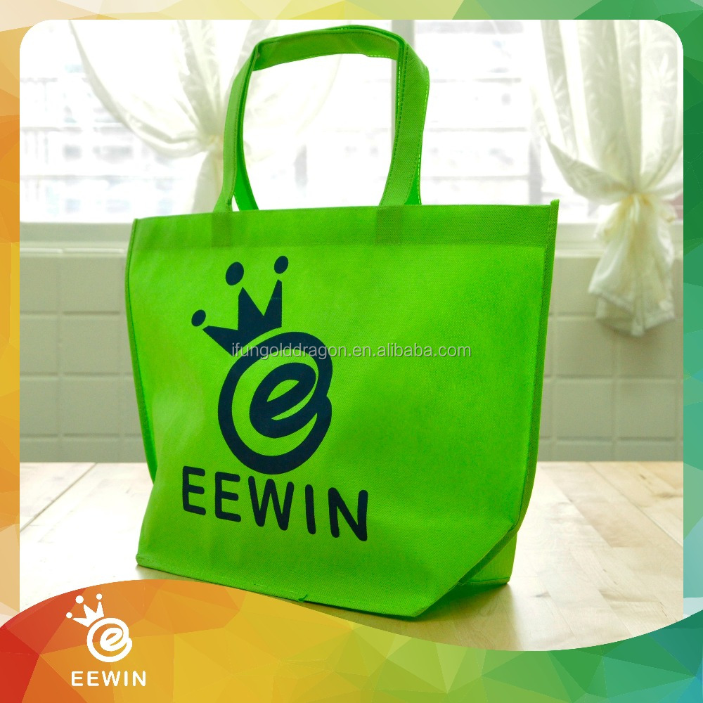 Cheap Promotional Custom Printed Full Color Non woven Shopping Bag