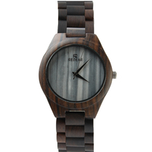 2018 newest OEM wood wristwatch with marble dial watch for men. Reloj de madera...