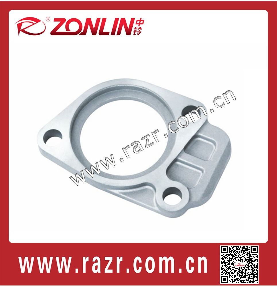 ZL-TO3003 Automobile spare parts die cast aluminum engine thermostat seat for toyota 4Y SY491 thermostat cover