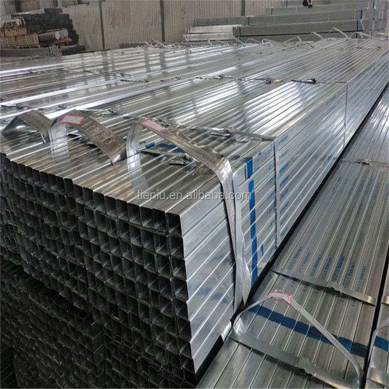 Galvanized Square Tubular Steel, GI MS Square Pipe Weight Chart