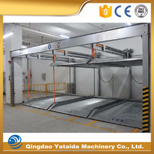 Professional safety multi floors residential pit garage parking