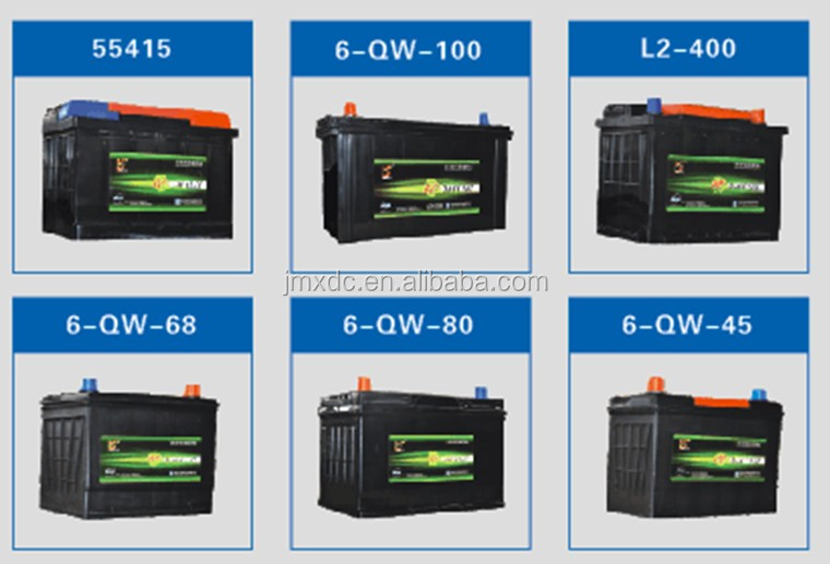 High quality with good price 12V lead acid maintenance-free battery/car battery manufacture