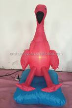 Wholesale Inflatable Turkey Shape Decoration For Christmas / Shop Decoration