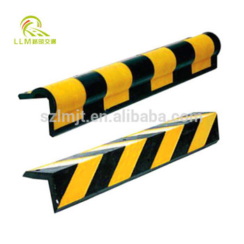 Garage Parking Safety Wall Protector Rubber Corner Guard reflective corner guard