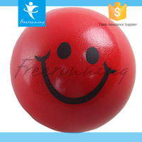 Fitness Funny Smile Face Wrist Stress Hand Exercise Ball