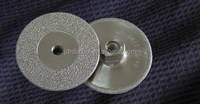 Brazed grinding diamond disc