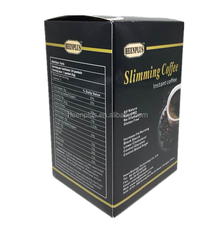 Chinese health slimming coffee maca ginseng coffee