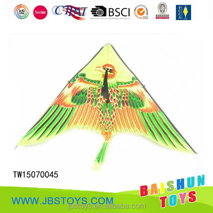 New design 100cm kids funny flying kite with woolen yarn