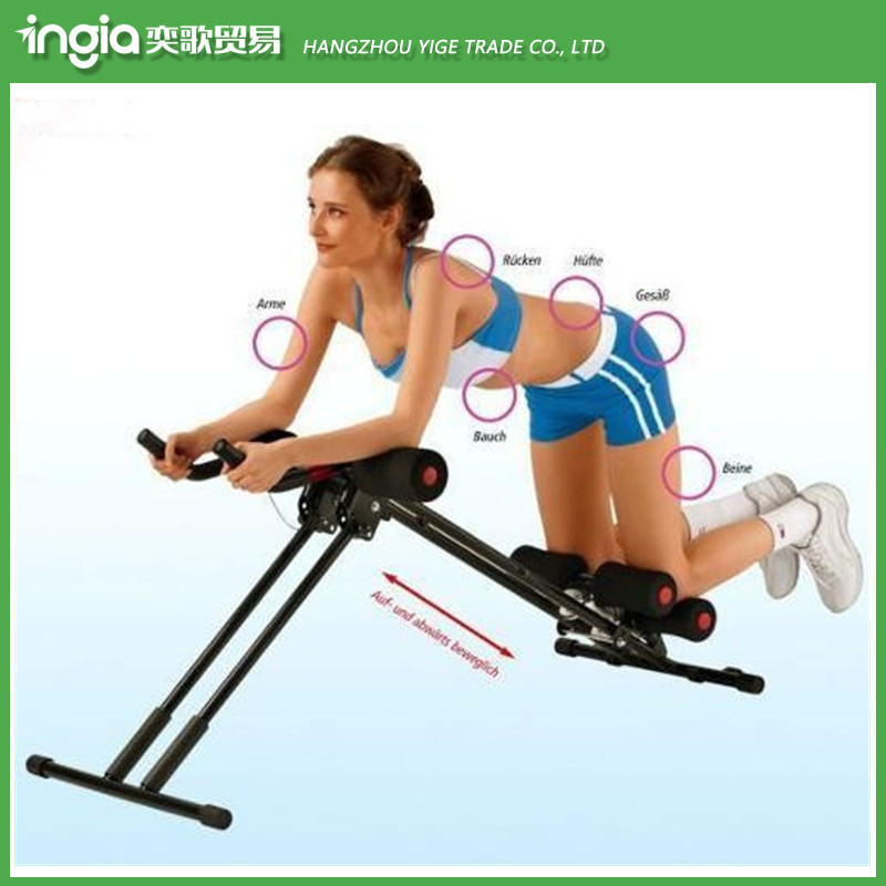 Wholesale PVC Climbing Ab Trainer Exercise Machine 6 Minutes Body Shaper
