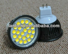 2013 new high lumen 5w SMD LED Spotlight indoor using MR16/GU10 dimmable/non-dimmable type CE&ROHS approved China price