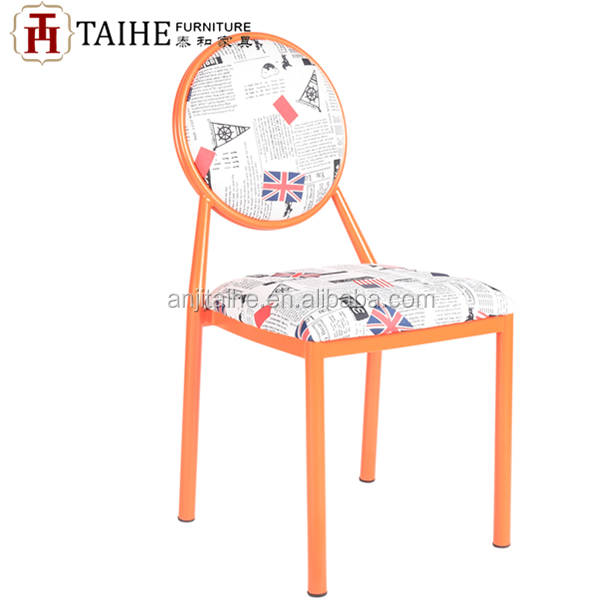 dining furniture general use throne chair metal material chair