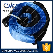 (WL STRAP) heavy duty recovery kit tow strap car recovery strap