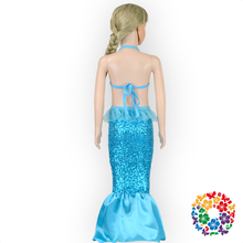 2016 baby colorful sequin mermaid tail swim dress ,mermaid tail for swimming dresses mermaid dresses for kids