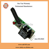 high quality with fixed code universal 433MHZ/315MHZ control for automatic gate remote switch(ZKH)