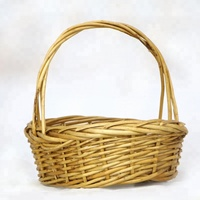 Wholesale gifts hamper storage box cheap small wicker basket