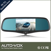 Bluetooth cam dash navigation mirror with FM transmission