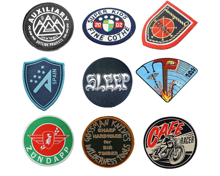 Custom woven patches for jacket