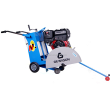 Concrete asphalt cutter saw with gasoline or diesel engine