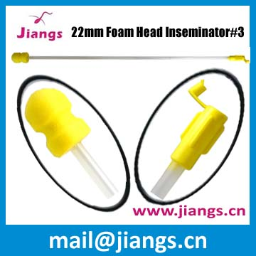 Jiangs Artificial Insemination Foam Head Semen Tube