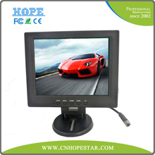 10 inch car lcd monitor with 4:3 lcd panel for POS/industrail/car/pc