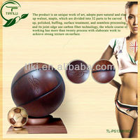 Wood craft football,soccer table,luxury new style wood football
