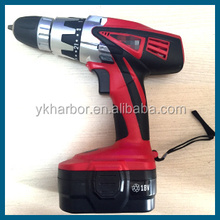 18V , 14V,12V ,handy tools two li-on batteries Electric <strong>drill</strong> Cordless <strong>drill</strong> <strong>Drill</strong> Type