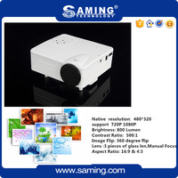 2.4 inch LCD TFT display multimedia LED mini portable projector