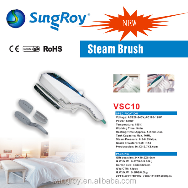 SUNGROY handle steam cleaner VSC10 steam brush is good at clothes and bedroom