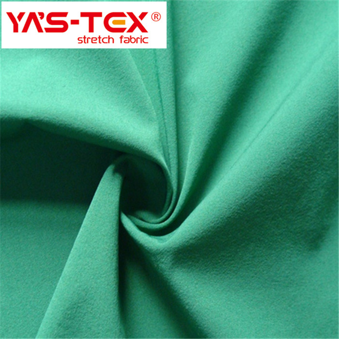 China manufacturer hot sale waterproof 82% nylon 18% spandex fabric for sports wear