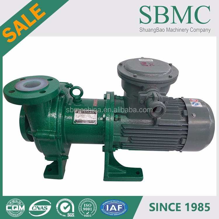 With CE and ISO9001 Certificates waste solvent ptfe magnet drive pump supplier