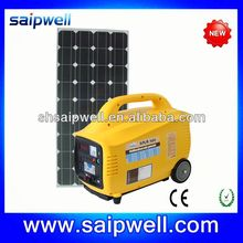NEW PLASTIC EUROPE MARKET 80W SOLAR SYSTEM FOR HOME APPLIANCES