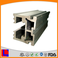 OEM industrial 6000 series extruded profiles anodized assembly aluminum frame