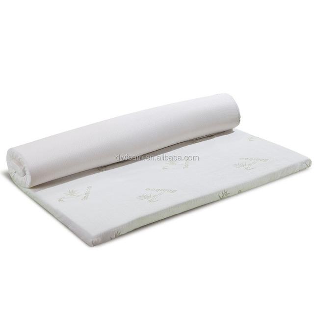 Bamboo Cover Visco Elastic Memory Foam Topper