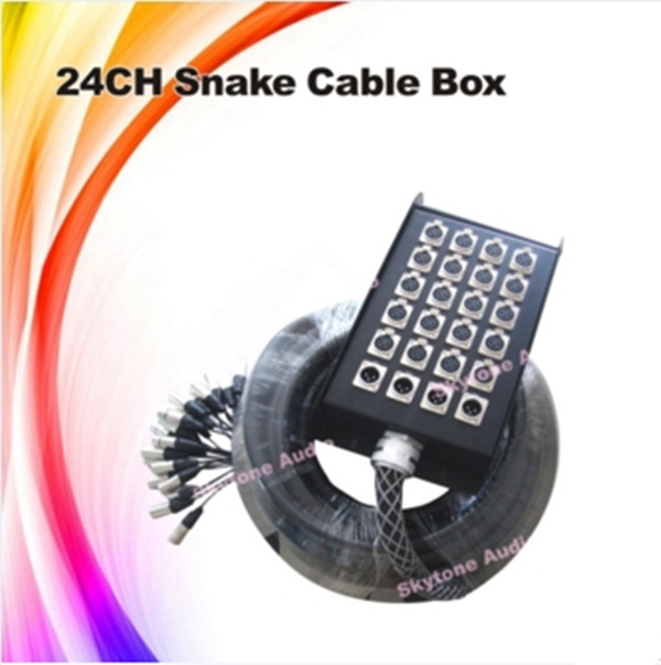 Sound Systems Equipment 24channels Audio XLR Snake Cable