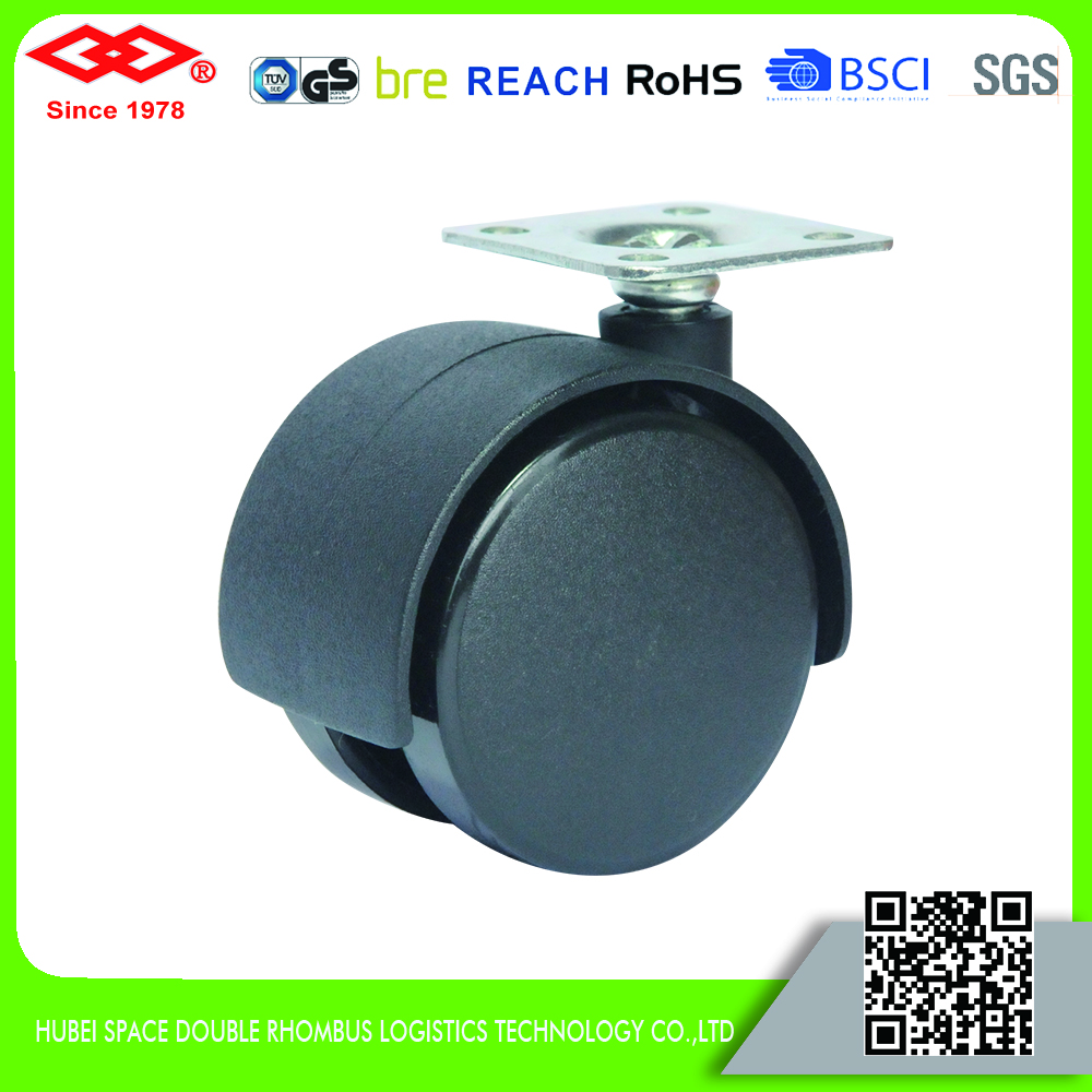 75mm ring stem casters for office chairs, chair leg casters