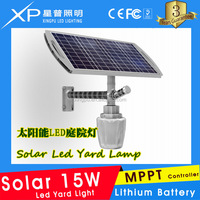 2016 Hot selling intergrated solar garden lighting solar led light 15W CE Rohs Approved