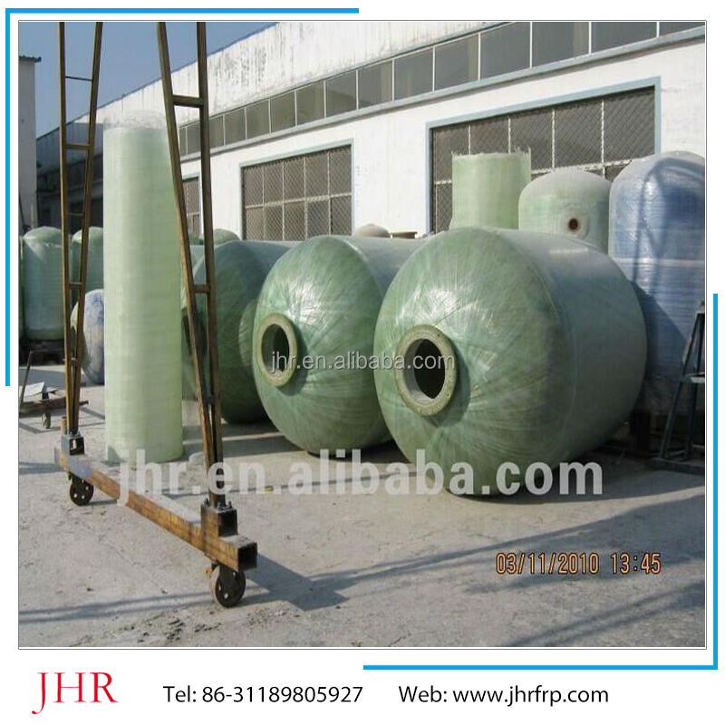 high quality Water Filter FRP Fiberglass Pressure Tank/Fiber Reinforce Plastic tank