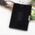 2016 New style leather mens wallet Hot sale tri-fold business card holder stainless steel