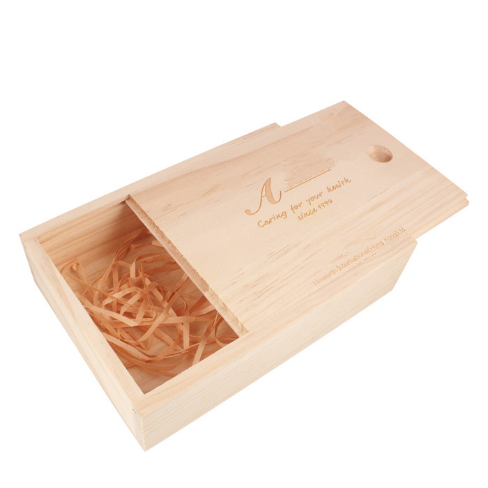 Woqi pack Vintage chest wooden tea gift box art crafts