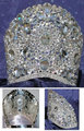 Miss word Pageant tiara Wide-brimmed crown fashion jewelry