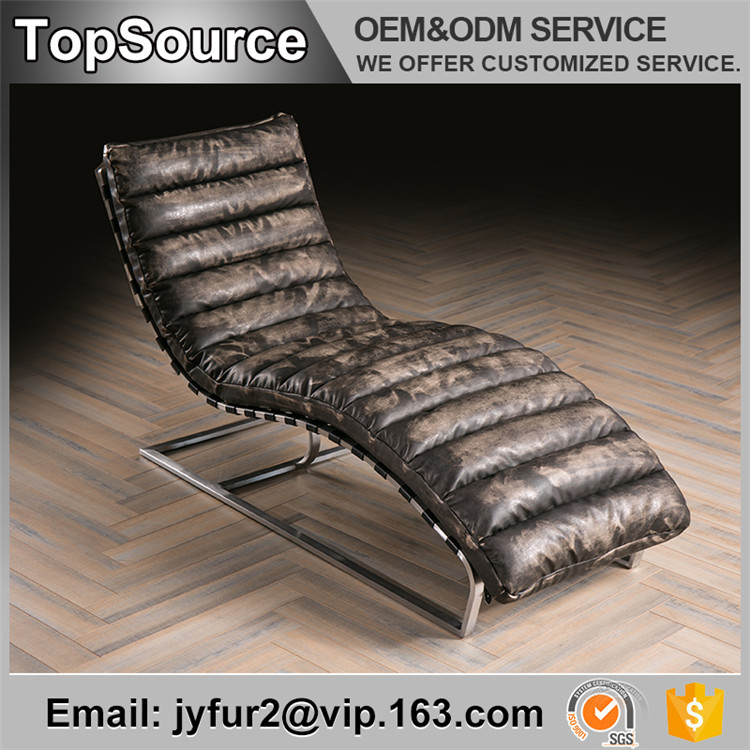 Lounge Style Fancy Mobile Chair Sofa With Black Strap