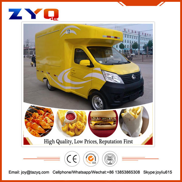Big discount manufacturer supply mobile fast food car for sale