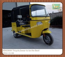Made In China 150CC Bajaj Taxi Three Wheel Passenger Motorcycle for Sale